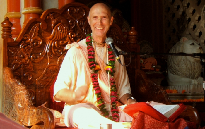 Smita Krishna Swami Maharaja, the disciple of Srila Prabhupada comming to Estonia. (19-26.12.2016)