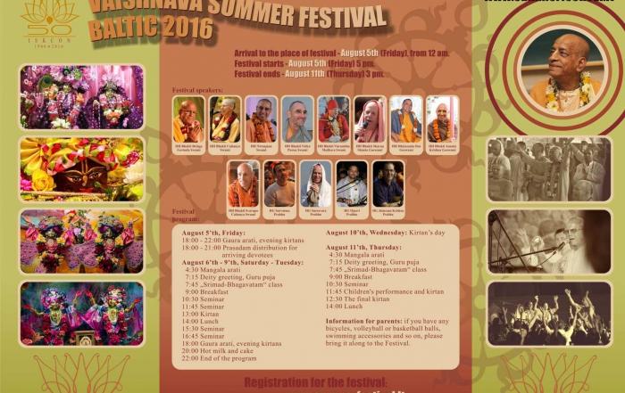 Vaishnava summer festival 2016