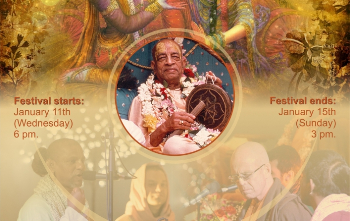 Vaishnava winter festival – BALTIC 2017